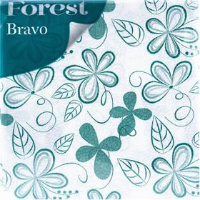 Șervețele Forest Bravo 1 strat – 45 buc.