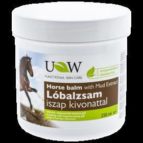 UW gel balsam de cal cu extract de nămol + 4 plante medicinale – 250 ml