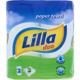 Lilla Duo konyhai törlőkendő 2 rétegű - 2 db