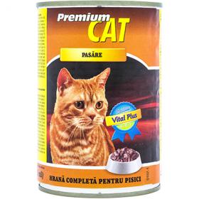 CAT Premium-cons.pt pisici 415g pasare