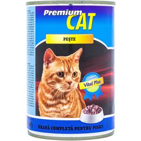 CAT Premium-cons.pt pisici 415g peste