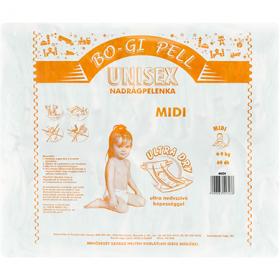 Bogi-Pell scutece Midi (4-9 kg) – 60 buc.