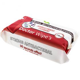 Doctor Wipe's șervețelele umede antibacteriene – 72 buc.