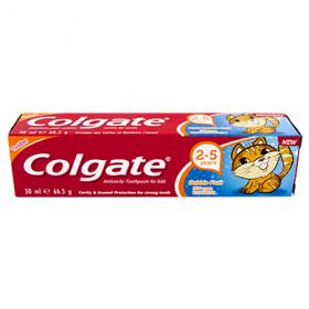 Colgate Bubble Fruit pastă de dinți pentru copii 2-5 ani - 50ml