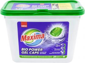 SanoMaxima Bio Power detergent capsule gel 28x21g - 588g