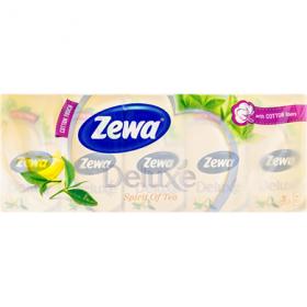 Batiste nazale Zewa Deluxe spirit of tea - 10x10 buc.