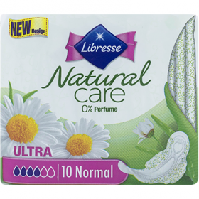 Libresse Natural Care Normal absorbante igienice - 10 buc.