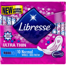 Libresse Ultra Normal Deo Fresh absorbante igienice - 10 buc