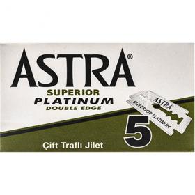 Astra Platinum lamă de ras – 5 buc