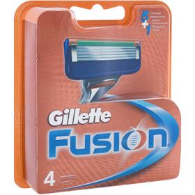 Gillette Fusion rezervă pentru aparat de ras - 4 buc.
