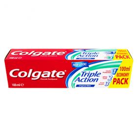 Colgate Triple Action pastă de dinți - 100 ml