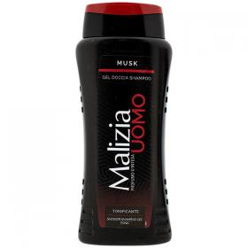 Malizia-B.gel dus-sampon 250ml MUSK