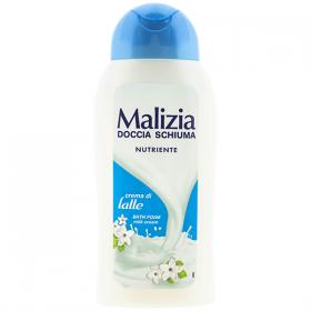 Malizia Crema di Latte gel de duș pentru femei - 300ml