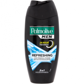 Palmolive-gel de dus-sampon B.250ml refreshing