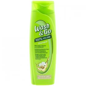 Wash&Go Argan and Almond șampon pentru toate tipurile de păr - 200ml
