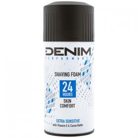 Denim-spuma de ras 300ml extra sensitive
