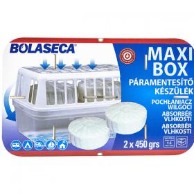Bolaseca Maxi Box aparat dezumidificator + 2 rezerve - 2x450g