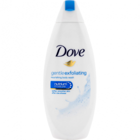 Dove-gel de dus 250ml F.gentle exfoliating