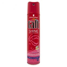Taft lac fixativ Shine mega strong 5 – 250 ml