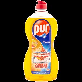 Pur-det.pt.vase 450ml Orange-Grapefruit