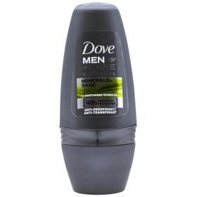 Dove Men Minerals Sage deodorant roll-on pentru barbati - 50 ml