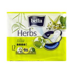 Absorbante intime Bella Herbs Tilia - 12buc