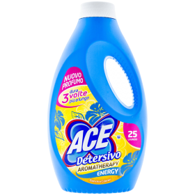 Ace Aromatherapy Energy detergent lichid (25 spălări) - 1,375L