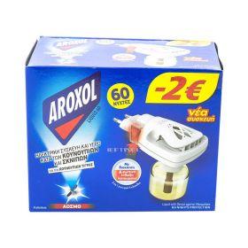 Aparat Aroxol și rezervă lichidă împotriva țânțarilor - 1buc