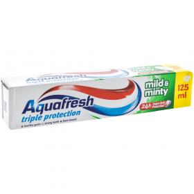 Aquafresh Triple protection Mild&Minty pastă de dinți - 125ml