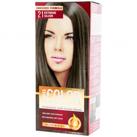 Aroma Color vopsea de par 21 Extreme Silver - 90 ml