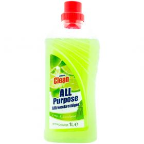 AtHome Lime-Eucalyptus soluție de curățat pentru suprafețe multiple - 1L