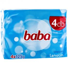 Baba săpun cu lanolină - 4x125g