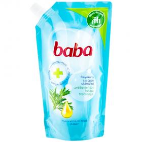 Baba rezervă săpun lichid antibacterial - 500ml