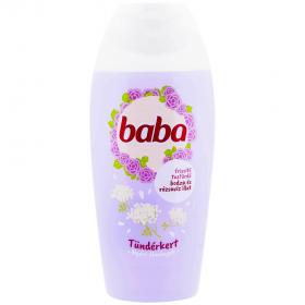 Baba Tündérkert gel de duș cu parfum de soc și apă de trandafir pentru femei - 400ml