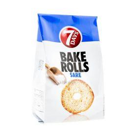 Bake Rolls cu sare 7Days - 80gr
