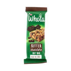 Baton de cereale Whola Chocolate cu ovăz - 35gr