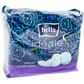 Bella Ideale Night Ultra Thin absorbante igienice de noapte - 7buc