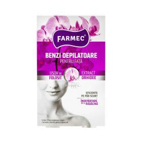 Benzi depilatoare pentru față Farmec Orhidee - 20buc