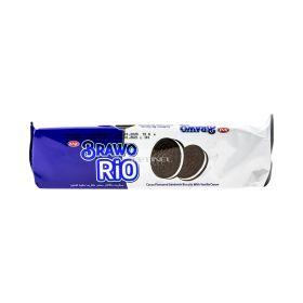 Biscuiți Brawo Rio cu cacao și cremă de vanilie - 72gr