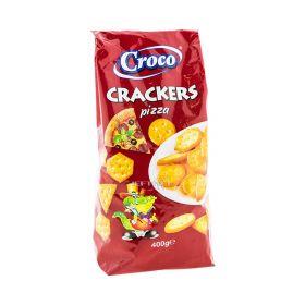 Biscuiți cu aromă de pizza Croco Crackers - 400gr