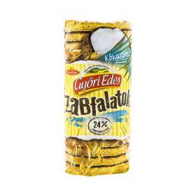 Biscuiți cu ovăz și cocos Győri Zabfalatok - 215gr