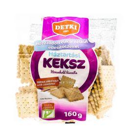 Biscuiți de casă Detki cu îndulcitor - 160gr