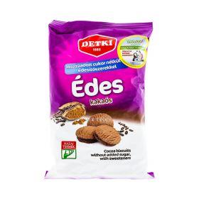 Biscuiți dietetici Detki cu cacao și îndulcitor - 180gr