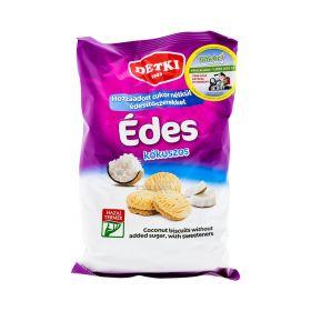 Biscuiți dietetici Detki cu cocos și îndulcitor - 180gr