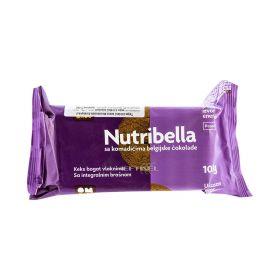 Biscuiți integrali Nutribella cu bucăți de ciocolată - 105gr