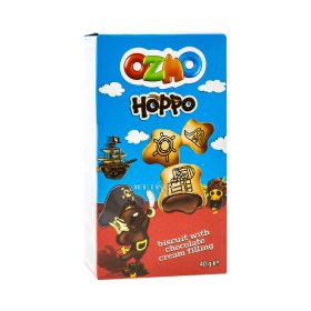 Biscuiți Ozmo Hoppo cu cremă de cacao - 40gr