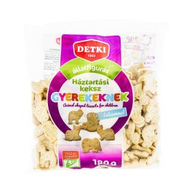 Biscuiți pentru copii Detki cu figurine de animale - 180gr