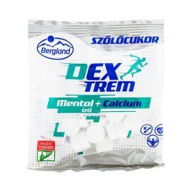 Bomboane de glucoză Bergland cu gust de Mentol + Calcium - 70gr