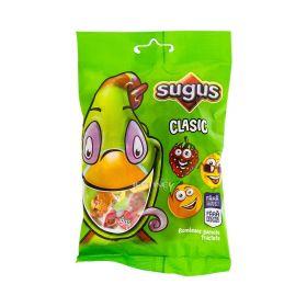 Bomboane gumate Sugus Clasic cu aromă de fructe - 80gr