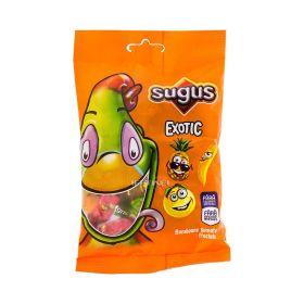 Bomboane gumate Sugus Exotic cu aromă de fructe - 80gr